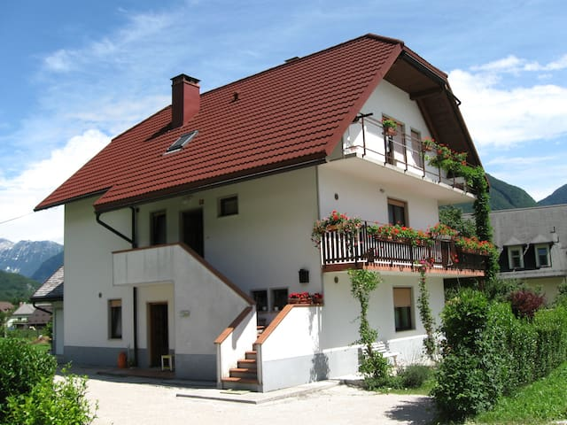 Apartma Flajs with large garden - Bovec - Appartement