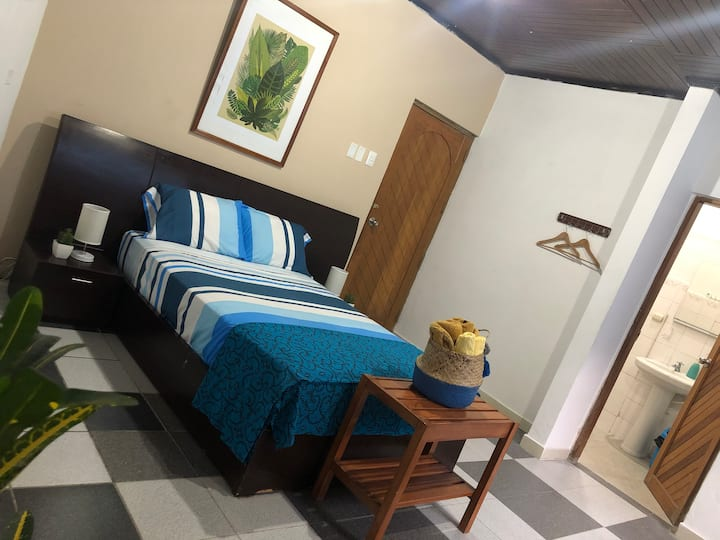 PoseidonGH SUPERIOR Room Double Bed Air Condition.