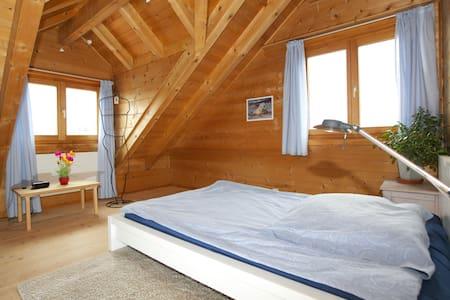 1 Zimmer (Nr 1) in einem Blockhaus - Therwil