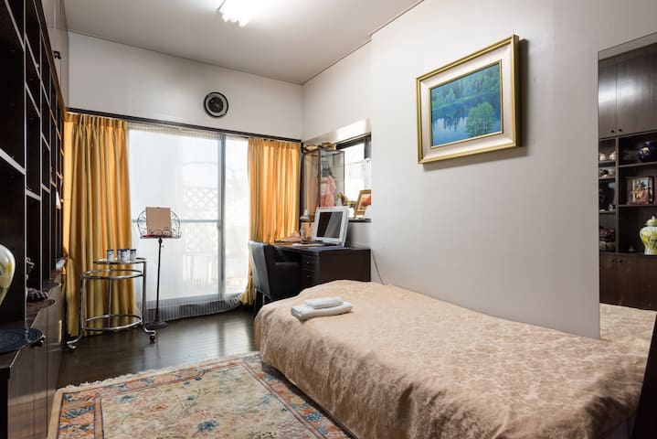 SHINAGAWA 5min, HANEDA 14min, Green Wide Terrace A - Shinagawa - Appartement
