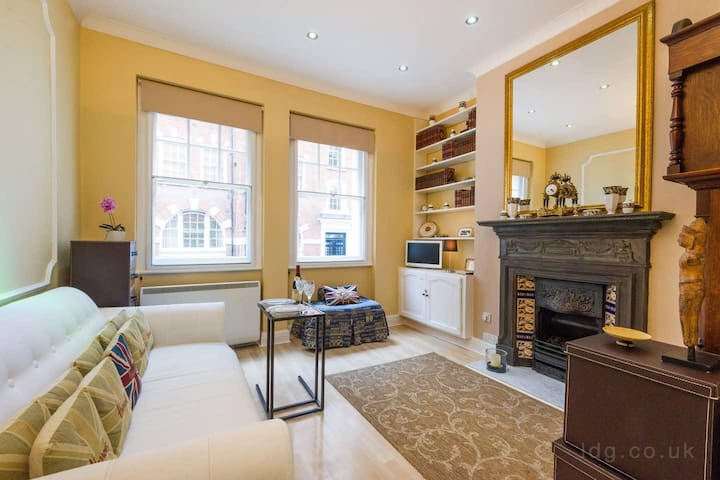 Traditional one bedroom apartment close to Oxford Circus , Central London