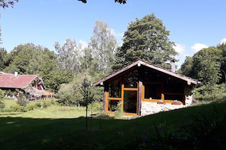 Maison de l'étang la dame ,plateau des 1000 étangs