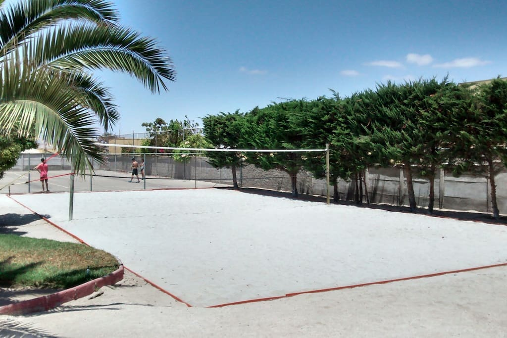 Cancha de Volleyball / Volleyball court