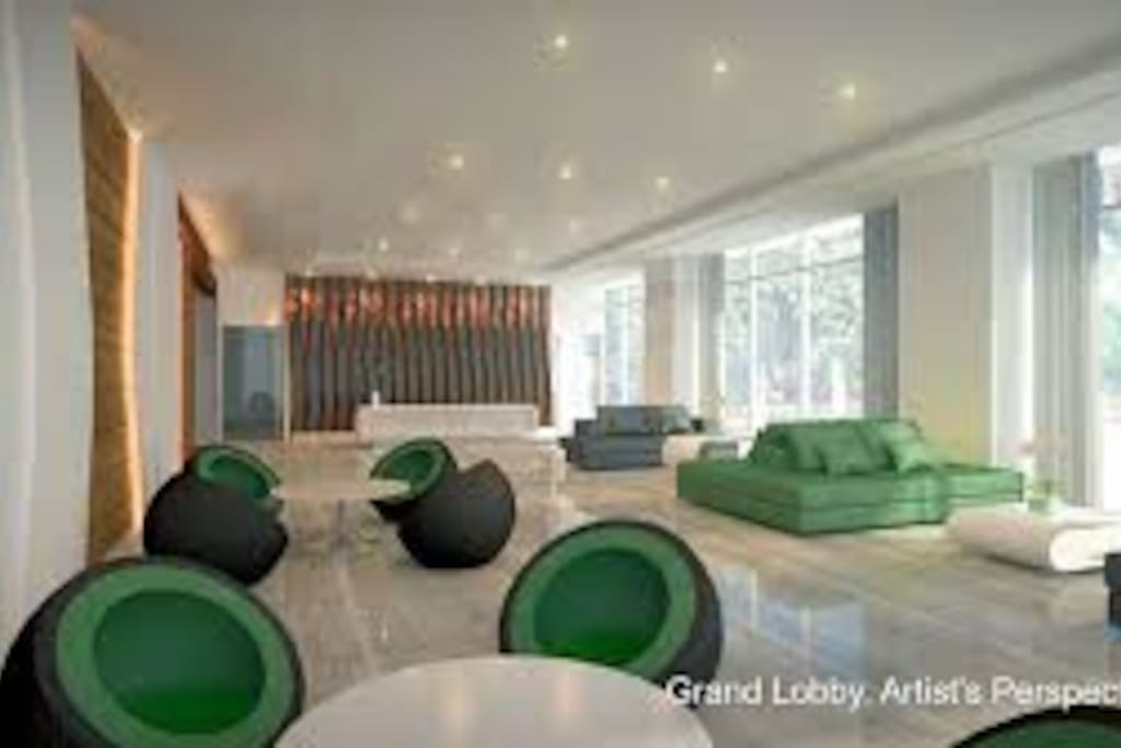 SMDC GREEN RESIDENCES LOBBY WITH FREE WI-FI
