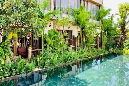 The Nature- Khmer Wooden Deluxe +Parking+Pool