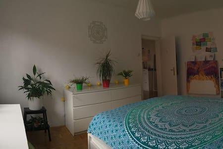 Cosy and calm bedroom between Rosenhain/Hilmteich - Graz