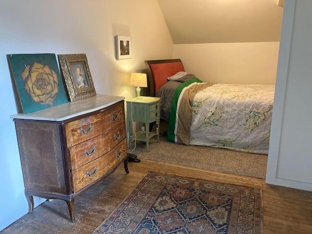 Third floor bedroom.