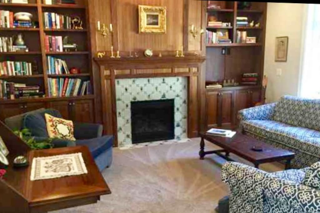 Guests' Library.