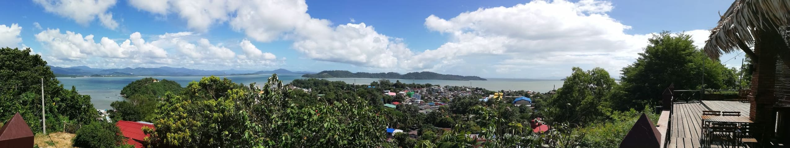 The view from Mingalar
