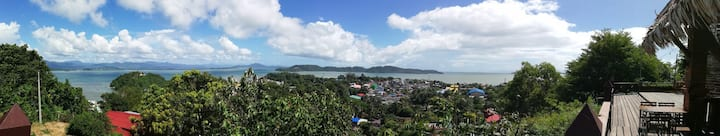 """Mingalar Villa"" Panoramic sea view ."