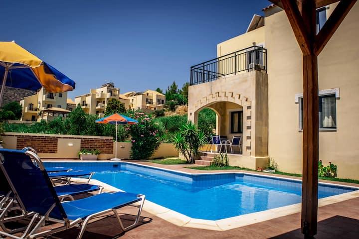 Villas Nine Muses - Villa Clio 3 Bdr Villa
