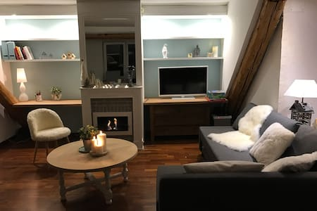 Charming apartment in the very heart of Metz - เมซ์