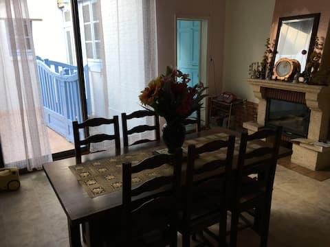 Maison de caractère 2 chambres en Sologne