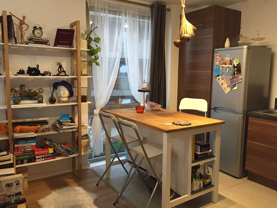 Multifunctional kitchen island
