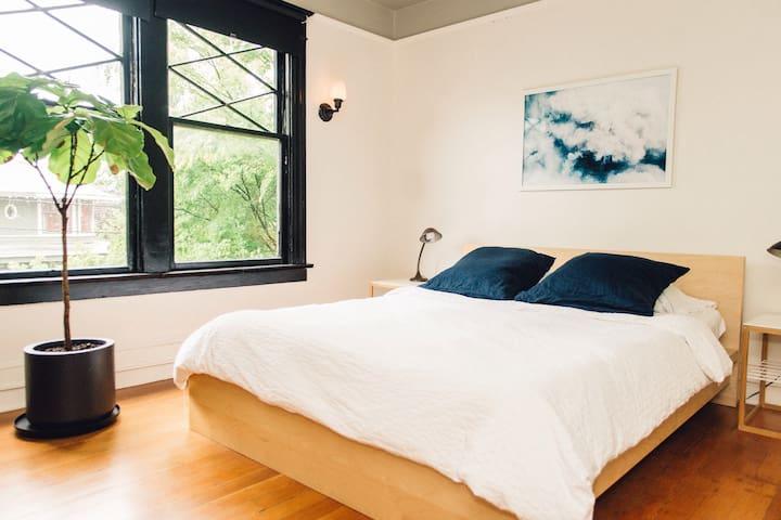 Brackish House: Denny View Bedroom