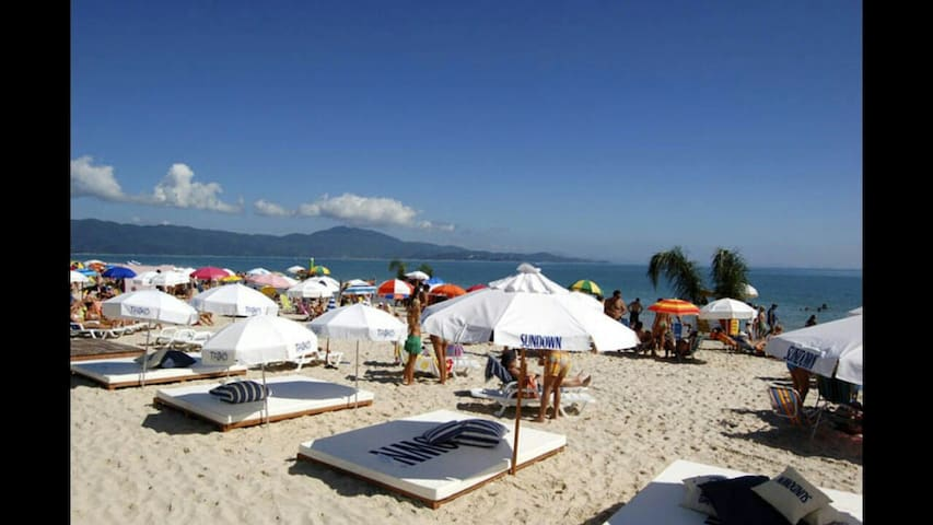 2 camas de casal*OPEN Shopping - Florianópolis - Apartment