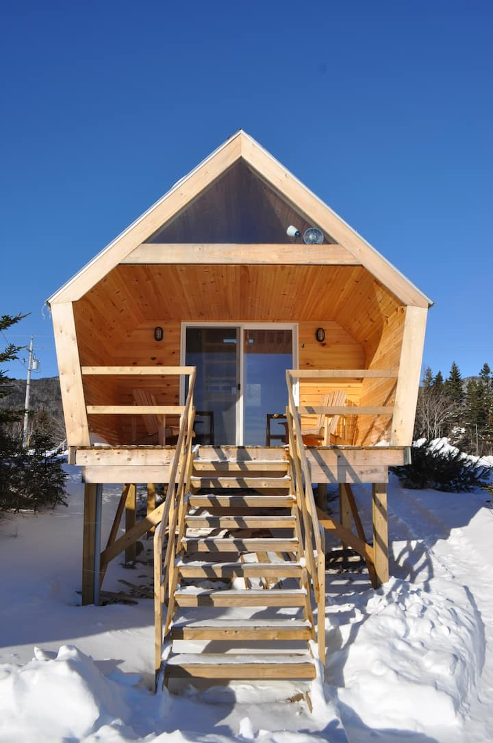 The ZzzzMoose 2.0 Luxury Camping Cabin