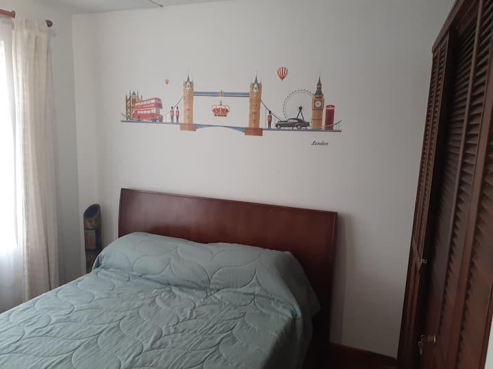 Acogedor apartamento privado en el centro