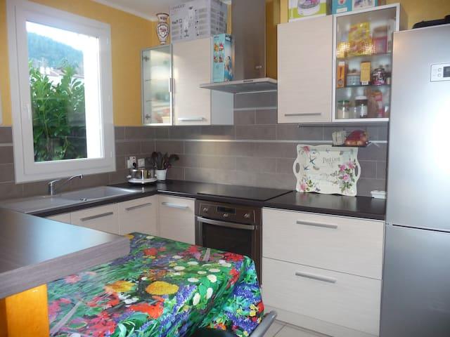 Duplex 80 m2 avec jardin - Ceyrat - Lägenhet