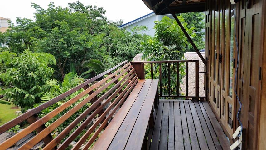 Guest House upper veranda
