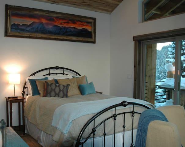 Upstairs master bedroom-Winter Room