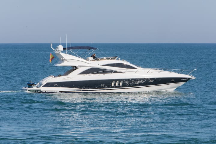Balearic Islands in Yate Sunseeker Manhattan 66