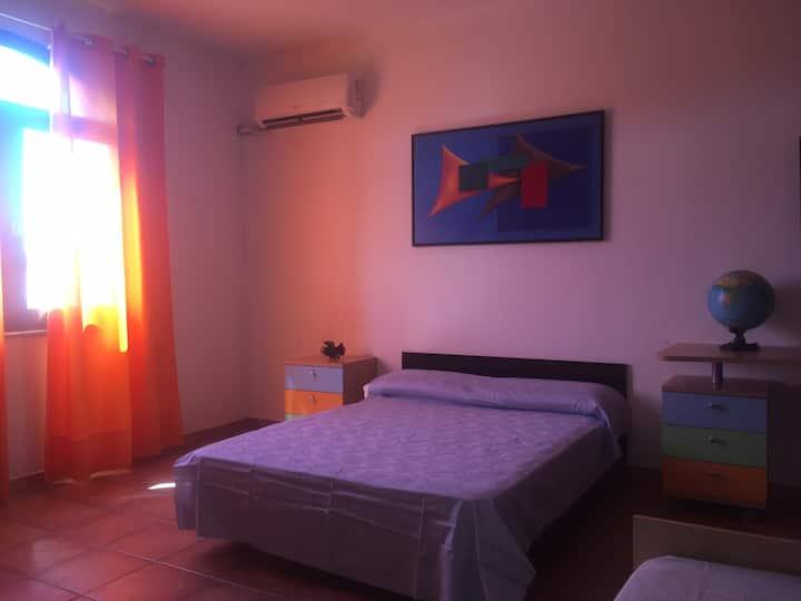 Ampia camera ideale per famiglie