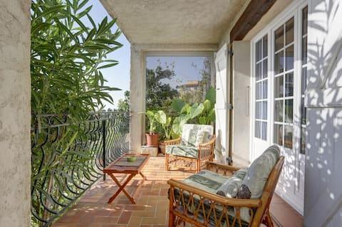 Balcony over the French Riviera, Vence