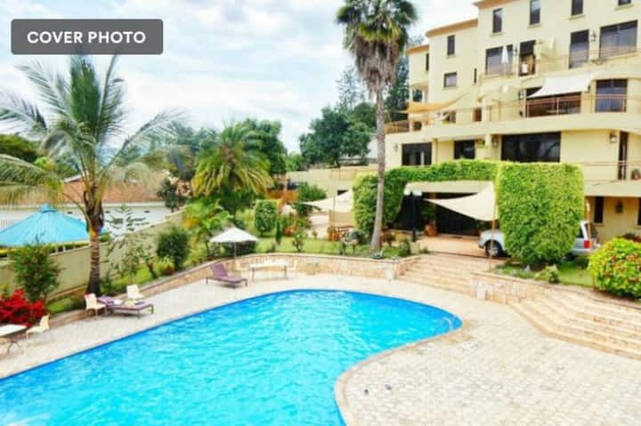 1 bedroom apartment fully furnished in Kigali