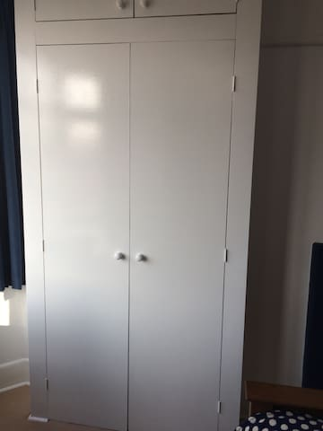 Fitted wardrobe with lots of hanging space