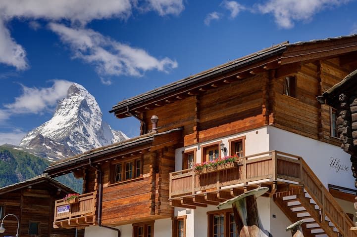 Chalet Ulysse Zermatt Charming and Cosy 12 guests