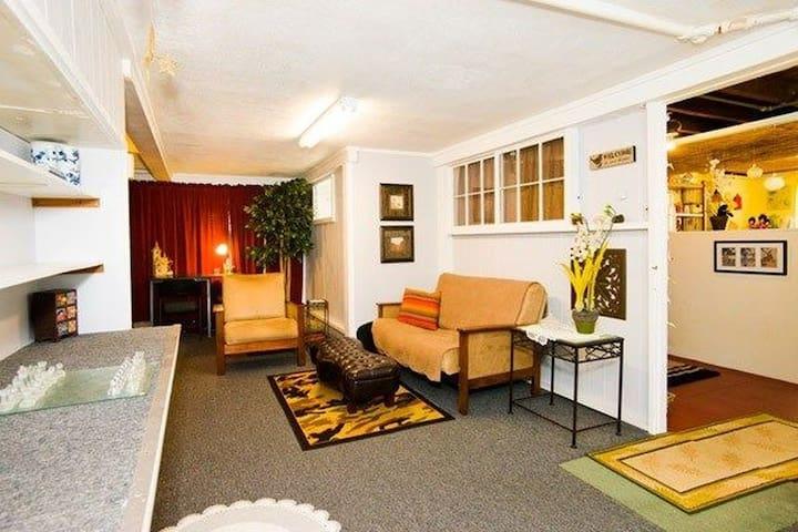 Spacious Comfy Full Apt 2BR & Bath - Hilo - Apartemen