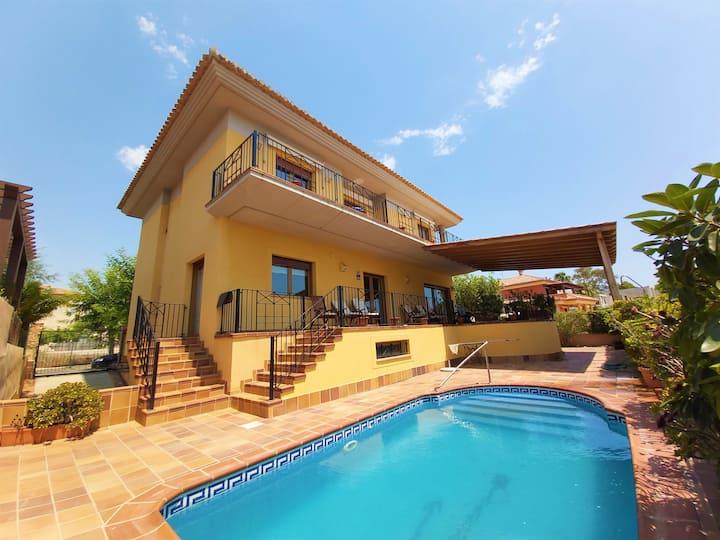 Luxury Villa with amazing views infront Mar Menor