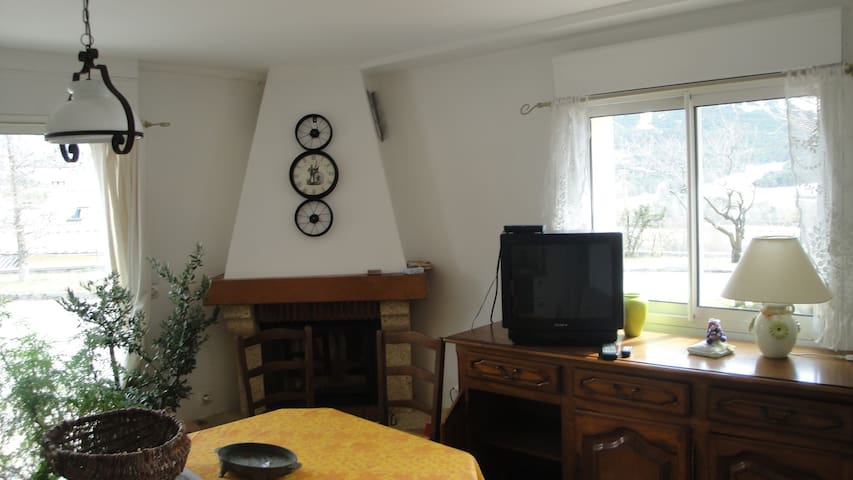 Le calme d'un appartement dans le haut verdon - Thorame-Basse - Apto. en complejo residencial