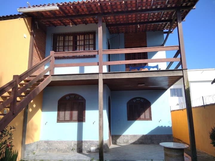 Casa aconchegante em Rio das Ostras a 800m do mar