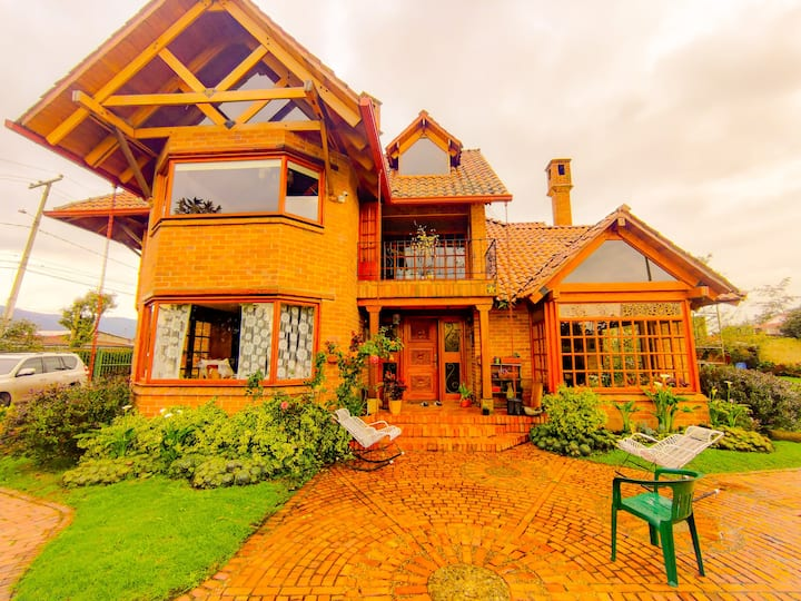 Awesome house Guaymaral, north of Bogota.