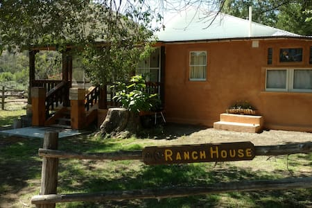 Vintage Ranch Home Along Bear Creek Canyon in SW New Mexico