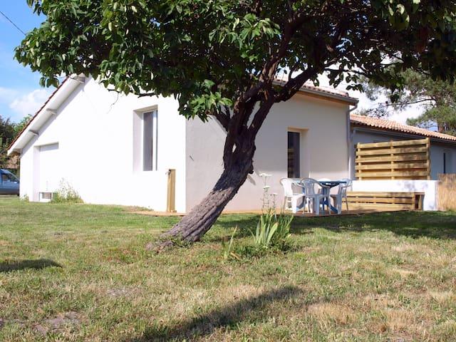 Maison de vacances entre Soulac et Montalivet.