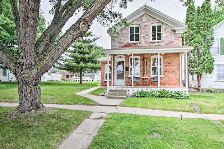 NEW! Historic Wabasha Home w/ Patio, in Downtown!