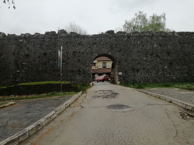Entrance to castle of Ioannina