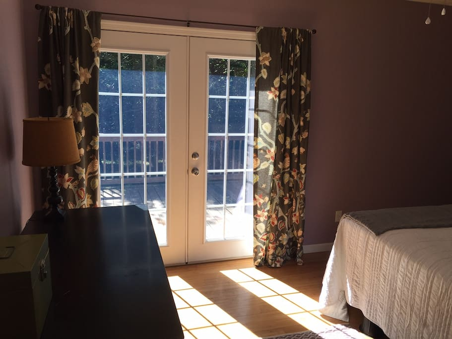 Master - French Doors onto Deck