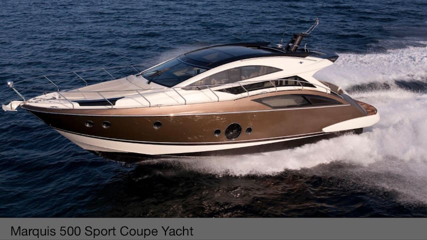 LUXURY 50' MARQUIS  for B&B, daily & hourly, pool