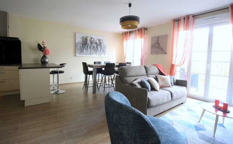 Enjoy this bright and spacious living room