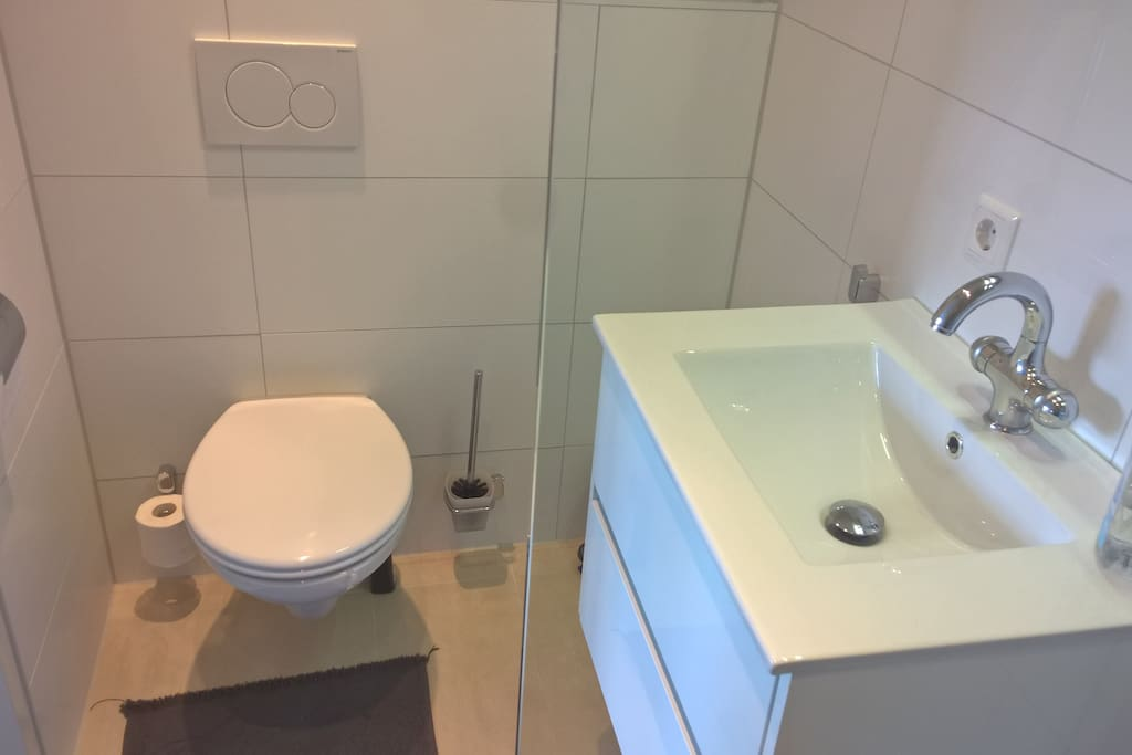 Your private newly built bathroom