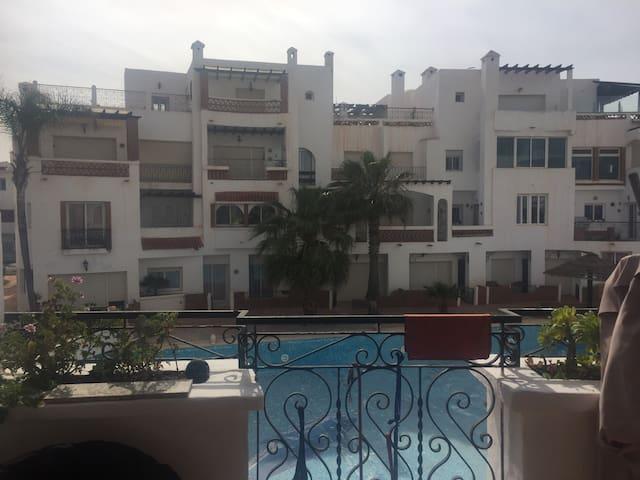 Location appartement à la Alacazaba - Tamaris - Byt