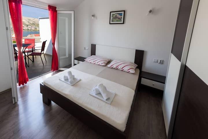 Apartment 2+1 Lozovina Pag A2