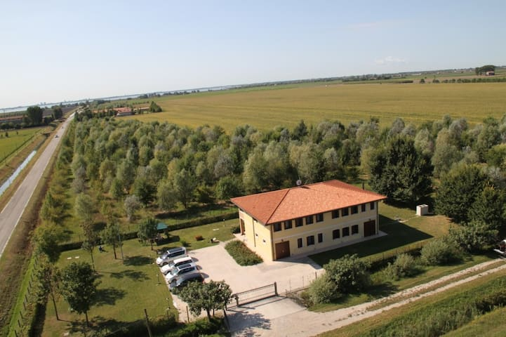 Panorama over green fields Fol3 - Palazzolo dello Stella - Квартира