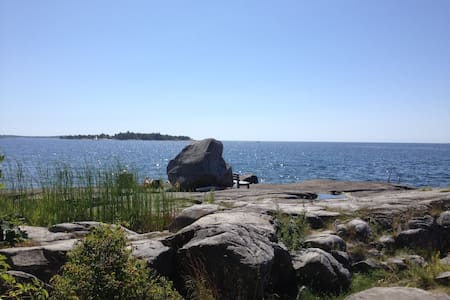 Havsnära stuga - Karlshamn