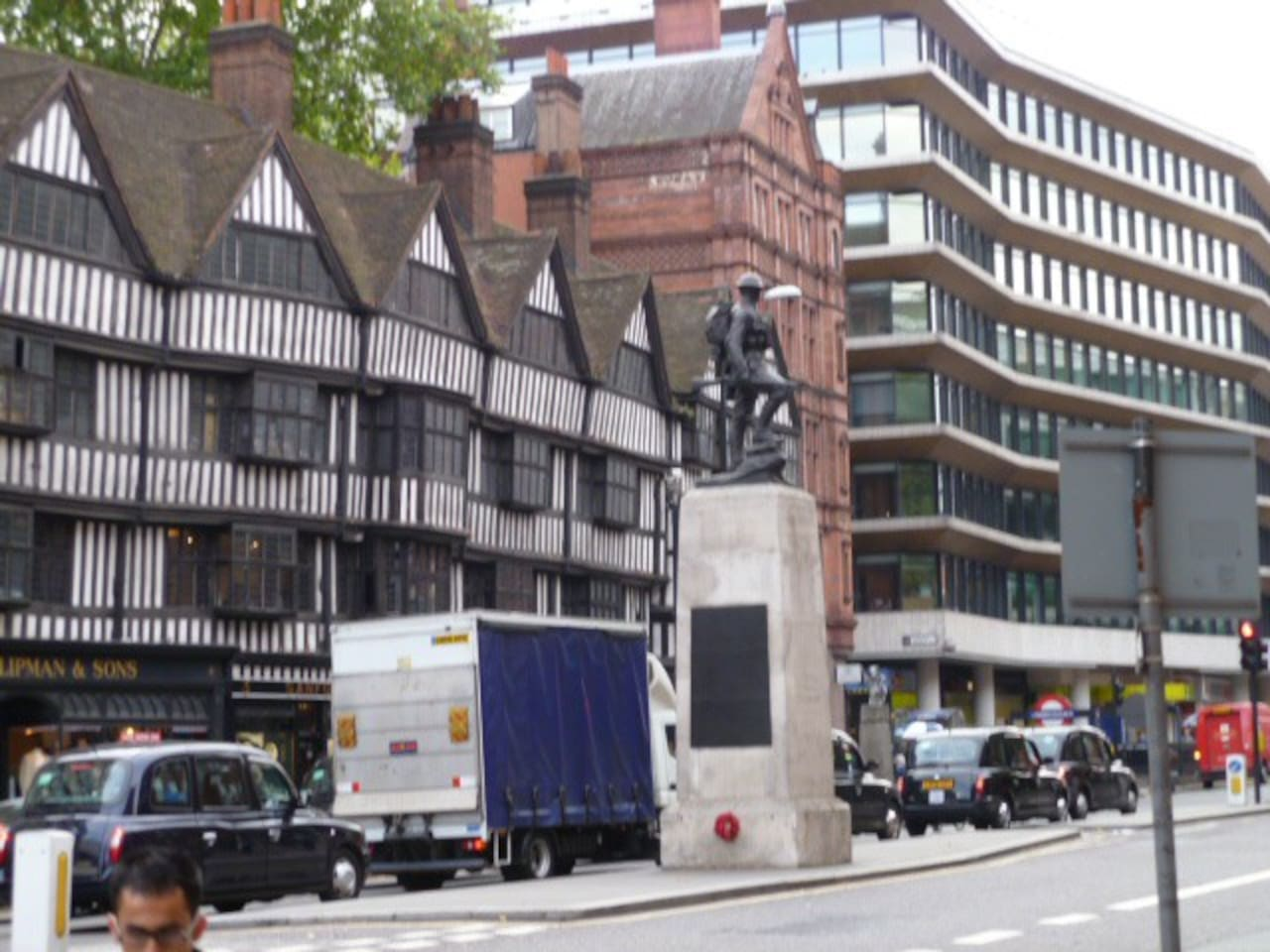 On the Short Walk from Chancery Lane to Your Room!