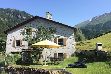 Romantic, standal. 5½ room cottage in Valposchiavo